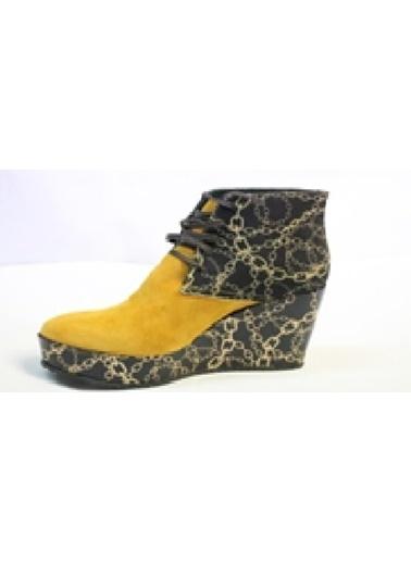 Due İtaliani Ayakkabı Sarı